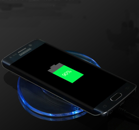 Qi wireless charger qi wireless charging pad for Samsung, HTC, LG, Nokia, Huawei
