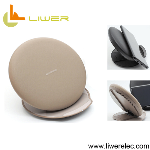 Folding Qi wireless charger pad for Andriod smartphones