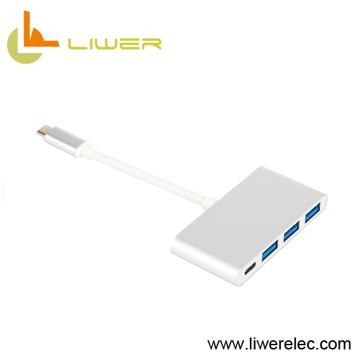 Type-C to USB 3.0 usb hub Splitter MacBook Converter Hub